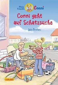 Cover Conni-Erzählbände 36: Conni geht auf Schatzsuche