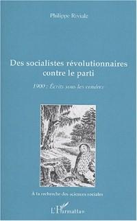 Cover Des socialistes revolutionnaires contre