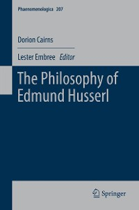 Cover The Philosophy of Edmund Husserl