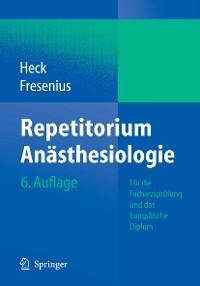 Cover Repetitorium Anästhesiologie