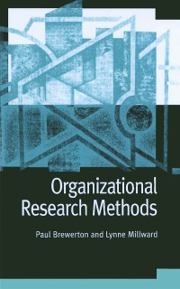 Cover Organizational Research Methods