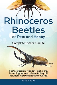 Cover Rhinoceros Beetles as Pets and Hobby - Complete Owner's Guide
