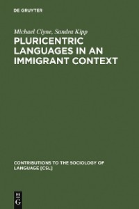 Cover Pluricentric Languages in an Immigrant Context