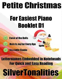 Cover Petite Christmas for Easiest Piano Booklet D1