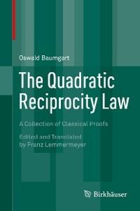 Cover The Quadratic Reciprocity Law