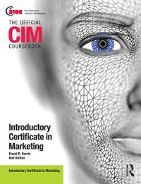 Cover CIM Coursebook Introductory Certificate in Marketing