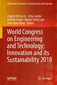 Cover World Congress on Engineering and Technology; Innovation and its Sustainability 2018