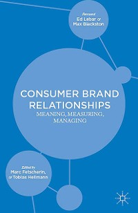 Cover Consumer Brand Relationships