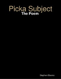 Cover Picka Subject: The Poem