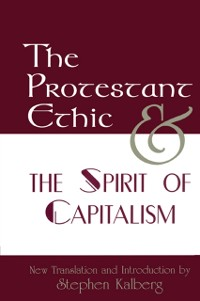 Cover Protestant Ethic and the Spirit of Capitalism