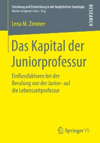 Cover Das Kapital der Juniorprofessur
