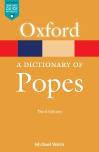Cover Dictionary of Popes