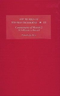 Cover The Works of Thomas Traherne III