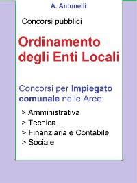 Cover Concorso Impiegato comunale - Ordinamento degli Enti Locali
