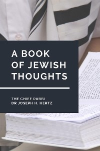 Cover A Book of Jewish Thoughts