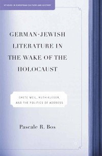 Cover German-Jewish Literature in the Wake of the Holocaust