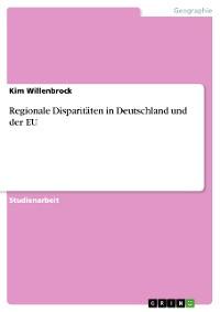 Cover Regionale Disparitäten in Deutschland und der EU