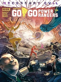 Cover Saban's Go Go Power Rangers, Issue 24