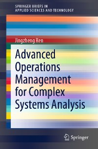 Cover Advanced Operations Management for Complex Systems Analysis