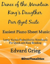 Cover Dance of the Mountain King's Daughter Peer Gynt Suite Easiest Piano Sheet Music