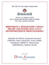 Cover Arbitrato e Mediazione Civile: valide soluzioni alle liti e un'opportunità professionale
