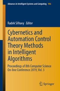 Cover Cybernetics and Automation Control Theory Methods in Intelligent Algorithms