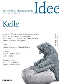 Cover Zeitschrift für Ideengeschichte Heft XII/4 Winter 2018