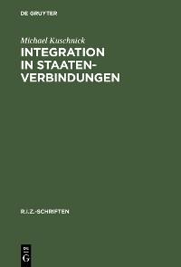 Cover Integration in Staatenverbindungen
