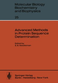 Cover Advanced Methods in Protein Sequence Determination