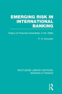 Cover Emerging Risk in International Banking (RLE Banking & Finance)