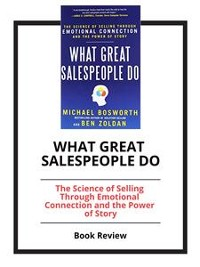 Cover What Great Salespeople Do