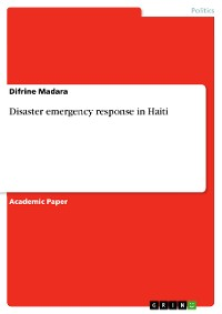 Cover Disaster emergency response in Haiti