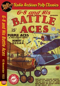 Cover G-8 and His Battle Aces #2 November 1933