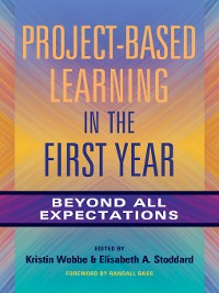 Cover Project-Based Learning in the First Year