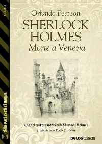 Cover Sherlock Holmes Morte a Venezia
