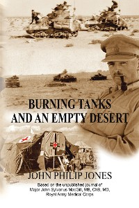Cover Burning Tanks and an Empty Desert
