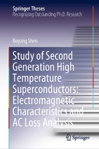 Cover Study of Second Generation High Temperature Superconductors: Electromagnetic Characteristics and AC Loss Analysis