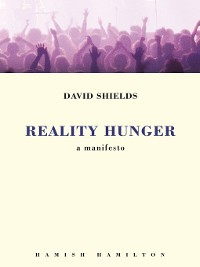 Cover Reality Hunger