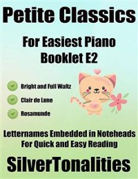 Cover Petite Classics for Easiest Piano Booklet E2