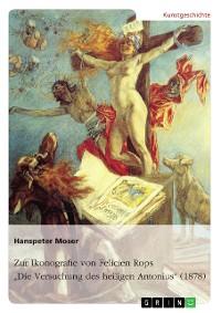 """Cover Zur Ikonografie von Felicien Rops' """"Die Versuchung des heiligen Antonius"""" (1878)"""