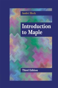 Cover Introduction to Maple