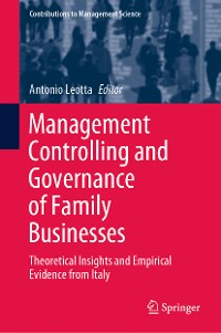 Cover Management Controlling and Governance of Family Businesses