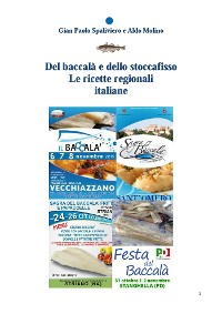 Cover Del baccalà e dello stoccafisso - Le ricette regionali italiane