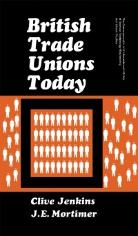 Cover British Trade Unions Today