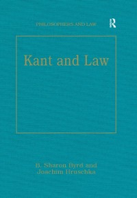 Cover Kant and Law