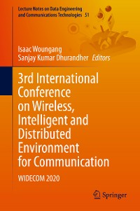 Cover 3rd International Conference on Wireless, Intelligent and Distributed Environment for Communication