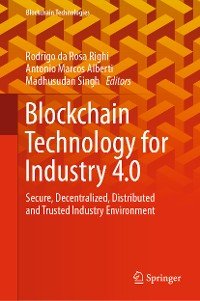 Cover Blockchain Technology for Industry 4.0