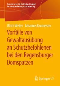 Cover Vorfälle von Gewaltausübung an Schutzbefohlenen bei den Regensburger Domspatzen