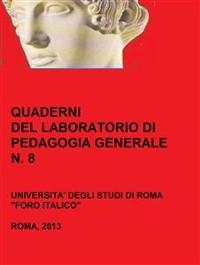Cover Quaderni del Laboratorio di Pedagogia Generale, 8