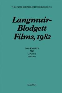 Cover Langmuir-Blodgett Films, 1982